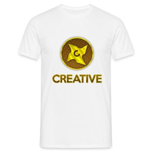 Creative logo shirt - Herre-T-shirt