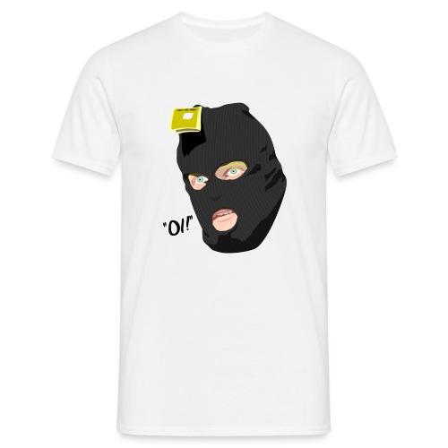 BLACK_CONDOM_SHIRT_PIC_1 - T-skjorte for menn