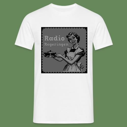 Radio Regeringen Grå Logga - T-shirt herr