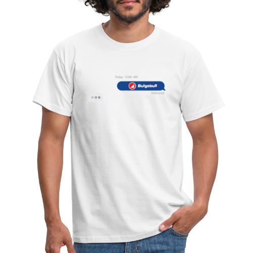 BULGEBULL TEXT - Men's T-Shirt