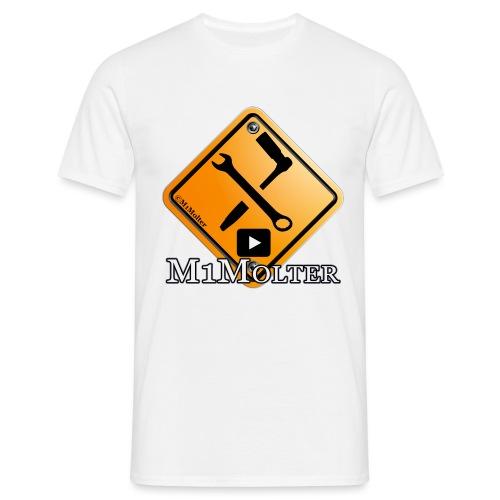M1Molter Logo - Männer T-Shirt
