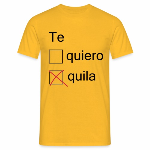 tequila - T-shirt Homme