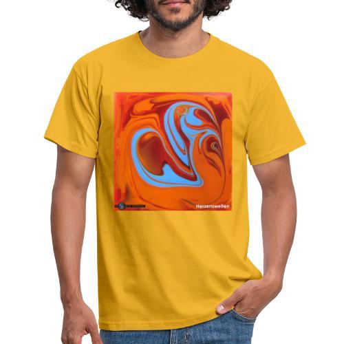TIAN GREEN Mosaik DK005 - Herzenswelten - Männer T-Shirt