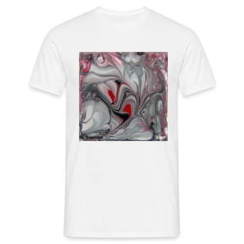 TIAN GREEN Mosaik DK016 - KLIMT - Männer T-Shirt