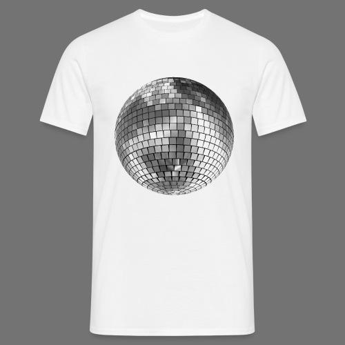 Disco kugle spejl bold - Herre-T-shirt