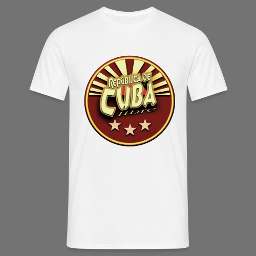 Republica De Cuba Libre - Männer T-Shirt
