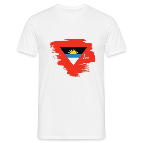 ANTIGUA BRUSH STROKE DESIGN - Men's T-Shirt
