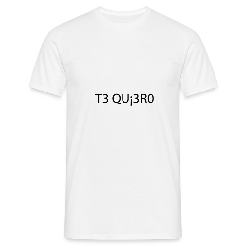 Te Quiero - T-shirt Homme