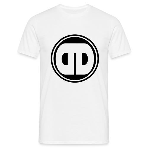 DDz Badge Logo V2 Black - Men's T-Shirt
