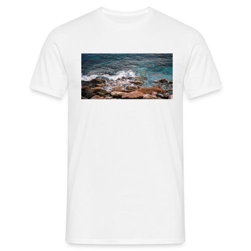Handy Hülle Meer - Männer T-Shirt