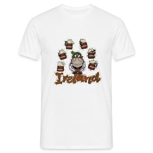 Happy sheep - Men's T-Shirt