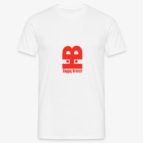 happy breizh logo - T-shirt Homme