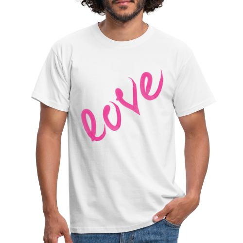 Love pink - T-shirt Homme