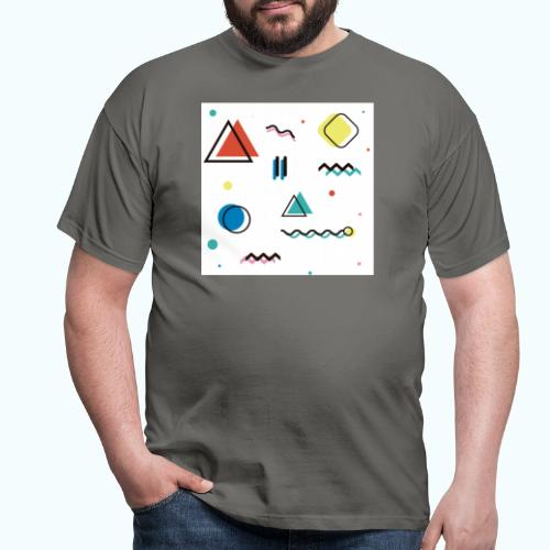 Abstract geometry - Men's T-Shirt