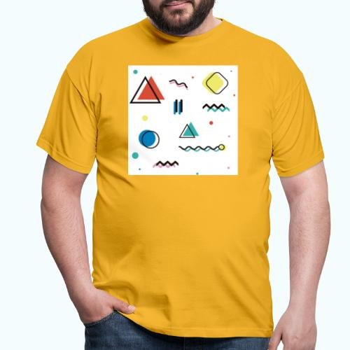 Abstract geometry - Men's T-Shirt