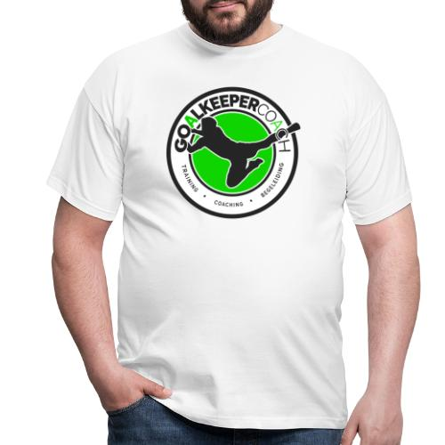 goalkeepercoach - Mannen T-shirt