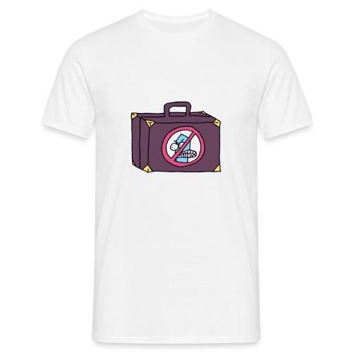 Koffer - Männer T-Shirt