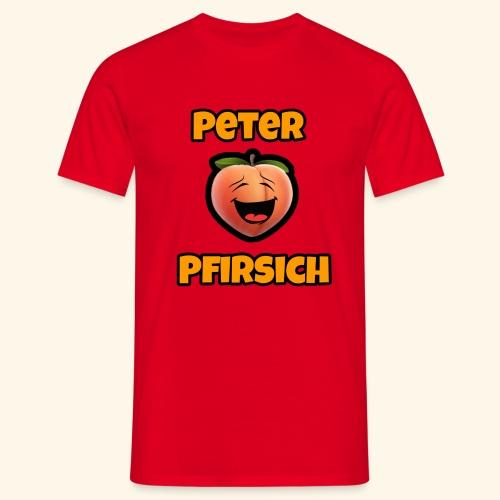 Peter Pfirsich - Männer T-Shirt