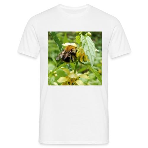 Auch eine Hummel braucht ein Dach überm Kopf - Männer T-Shirt