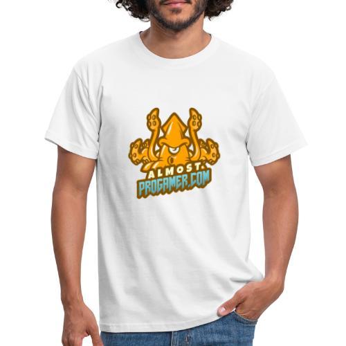 gaming logo maker featuring a squid monster 1847f - Maglietta da uomo