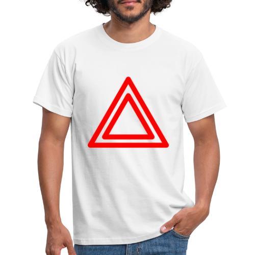 Warning - Men's T-Shirt