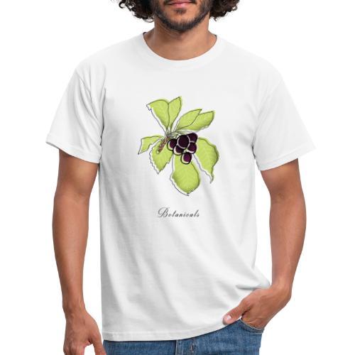 Disegno pianta di bacche - Maglietta da uomo