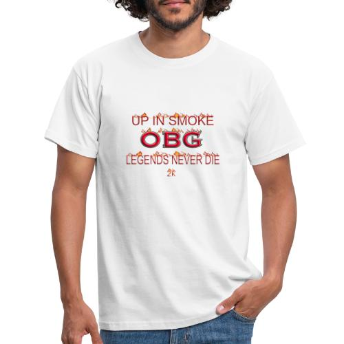 OBG Up in smoke - Männer T-Shirt