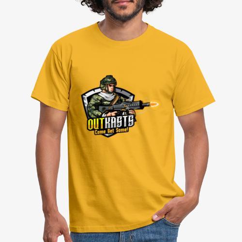 OutKasts [OKT] Logo 2 - Men's T-Shirt