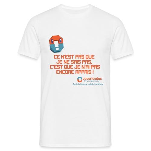 apprendre - T-shirt Homme