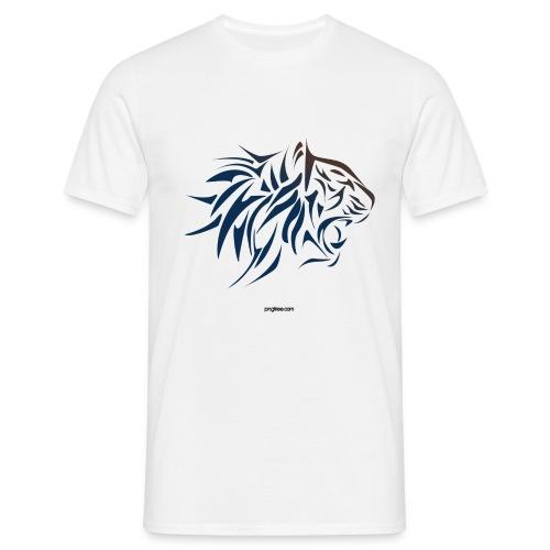tiger vector - Camiseta hombre