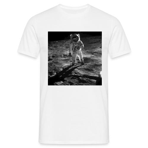 moon landing apollo - T-shirt herr