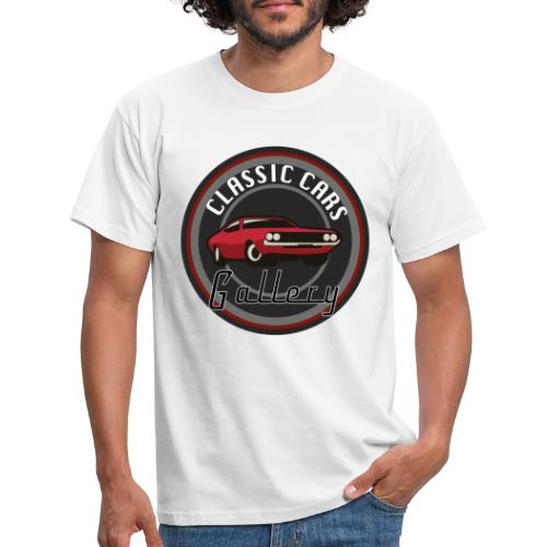 Classic Cars Gallery Logo Merchendise - Mannen T-shirt