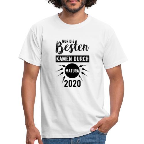 Nur die besten kamen durch - Matura 2020 - Männer T-Shirt