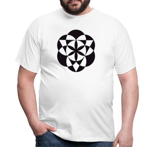 diseño de figuras geométricas - Camiseta hombre