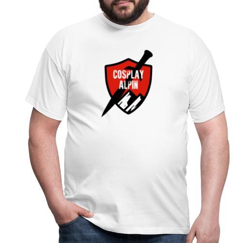 Cosplay Alpin Logo - Männer T-Shirt