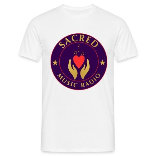 Spread Peace Through Music - Men's T-Shirt