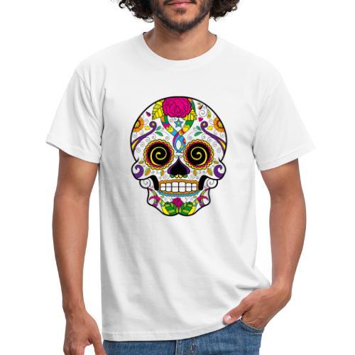 skull3 - Maglietta da uomo