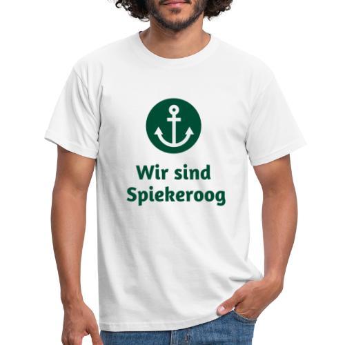 Wir sind Spiekeroog Freunde Sortiment - Männer T-Shirt