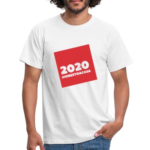 IORESTOACASA - Maglietta da uomo