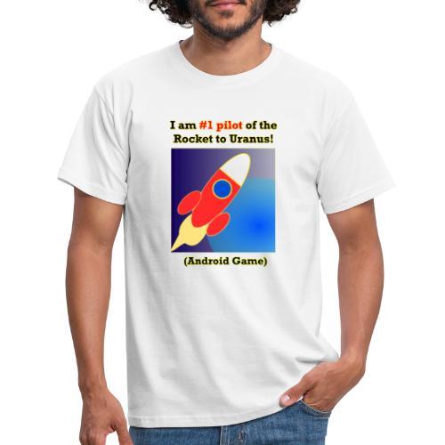 Rocket to Uranus - Miesten t-paita
