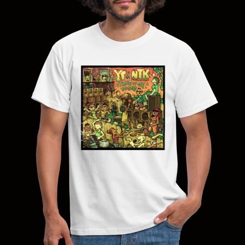 String Up My Sound Artwork - Men's T-Shirt