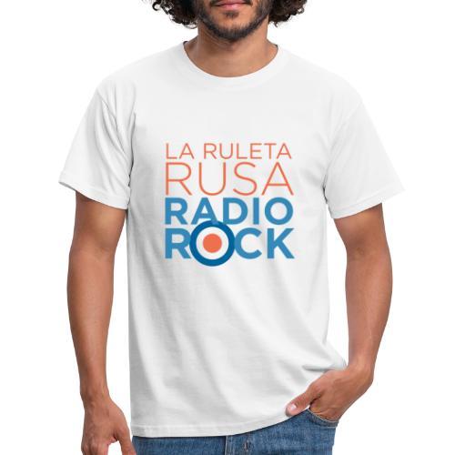 La Ruleta Rusa Radio Rock. Portrait Primary. - Camiseta hombre