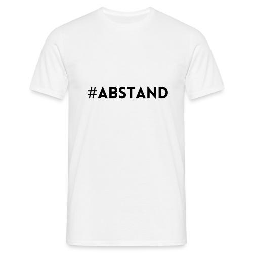 Corona T-Shirt ABSTAND - Männer T-Shirt