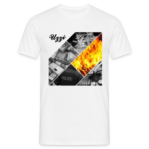 Uzzi fire - Männer T-Shirt