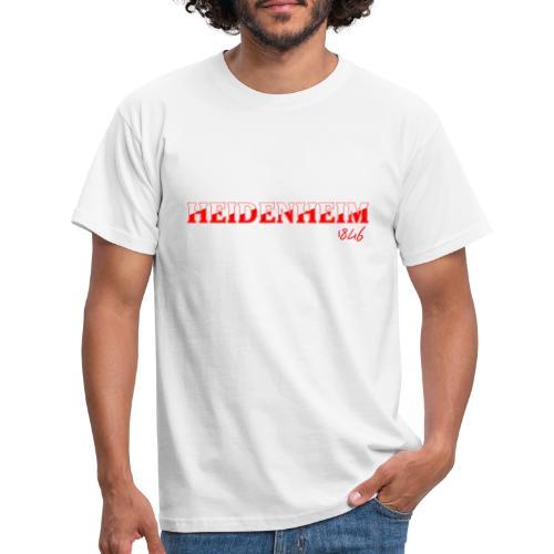 Heidenheim - Männer T-Shirt