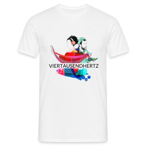 Viertausendhertz - Männer T-Shirt