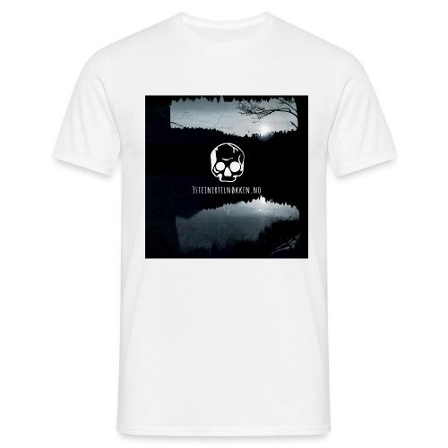 Hodeskalle - 3 steiner til nøkkelen - T-skjorte for menn