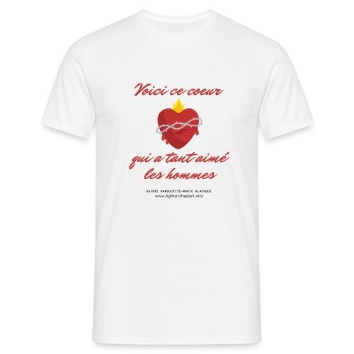 Voici ce coeur - T-shirt Homme