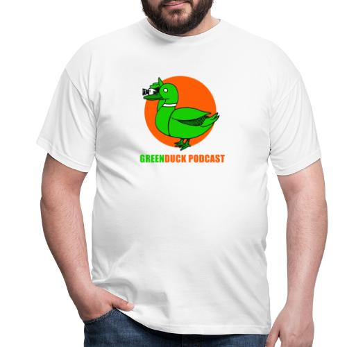 Greenduck Podcast Logo - Herre-T-shirt
