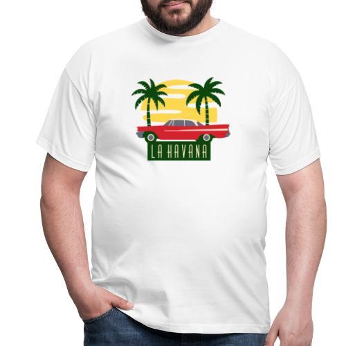 La Havana Vintage - Männer T-Shirt